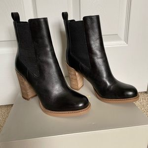 """Marc Fisher """"Harley"""" Chelsea Boot, Black, Size 7"""